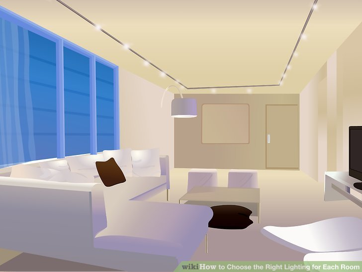 Try recessed lighting or track lighting to make a room come alive by accenting artwork, wall washing, or grazing.