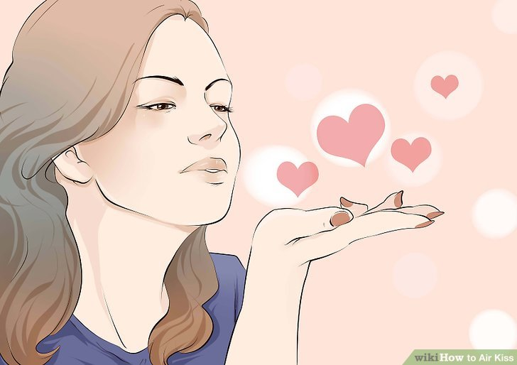 How to kiss steps with pictures