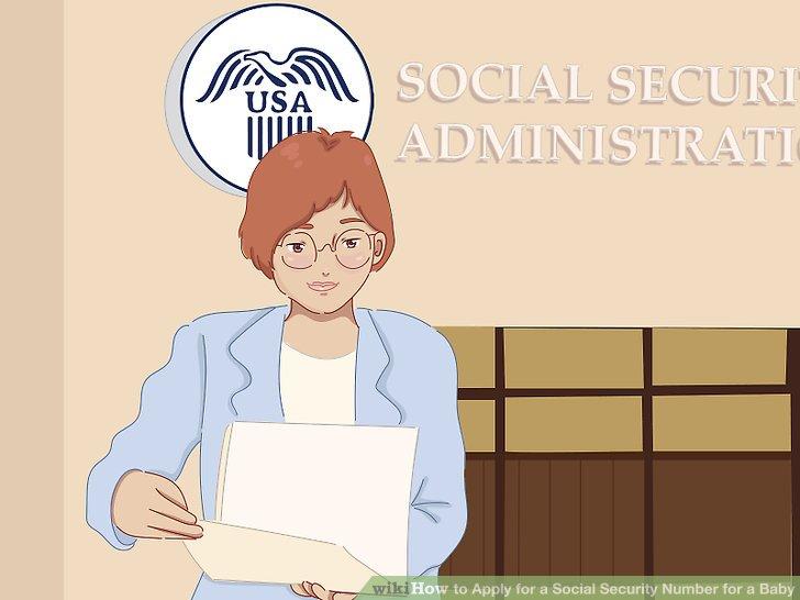 Besuchen Sie das SSA-Büro erneut, um die Aufzeichnungen über die Staatsbürgerschaft Ihres Babys zu aktualisieren.