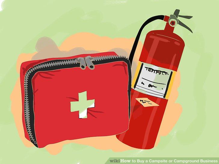 Informieren Sie sich über Ihre Pflichten in Bezug auf einfache Erste-Hilfe-Ausrüstung, öffentliche Feuerlöschausrüstung und Schulungen.