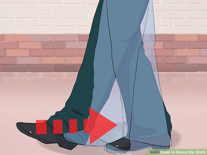 Bewegen Sie Ihren linken Fuß so, dass er parallel zu Ihrem rechten Fuß ist.