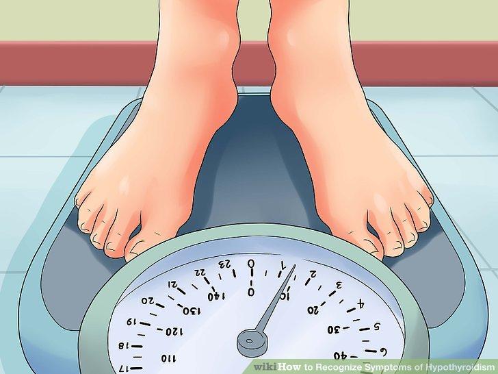 Achten Sie auf Gewichtszunahme.