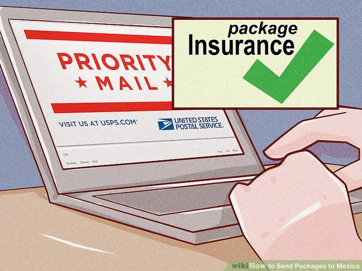 Versichern Sie Ihr Paket.