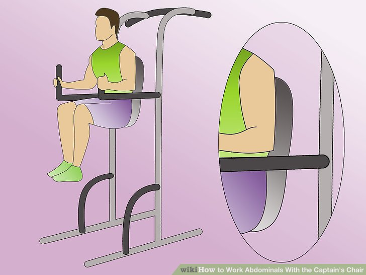 captains chair exercise 2 star wars meme 4 ways to work abdominals with the captain s wikihow image titled step