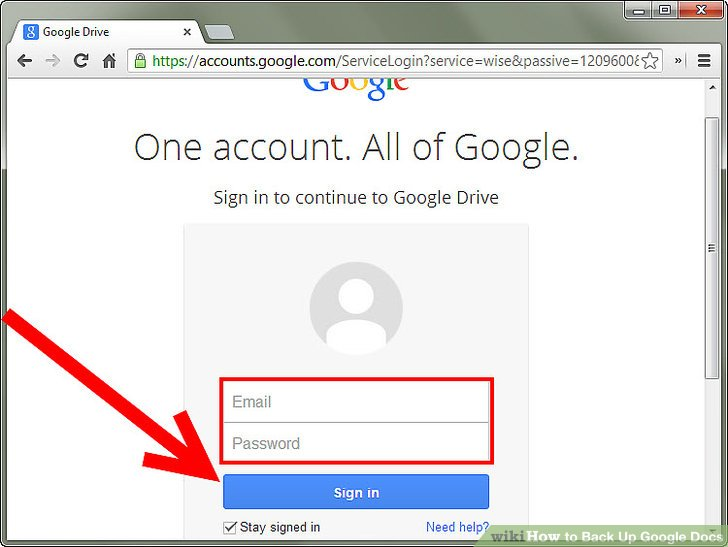How To How To Back Up Google Docs - Google docs sign up