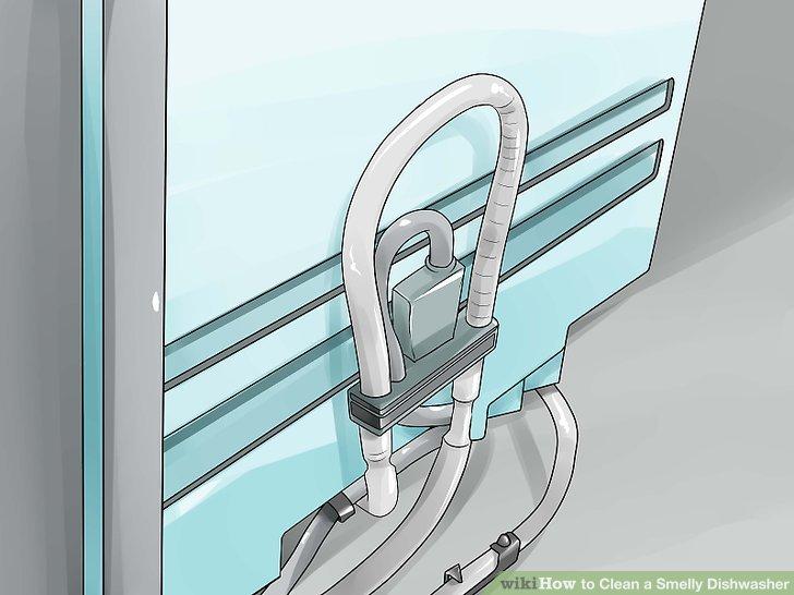 Überprüfen Sie den Ablaufschlauch auf Verstopfungen.