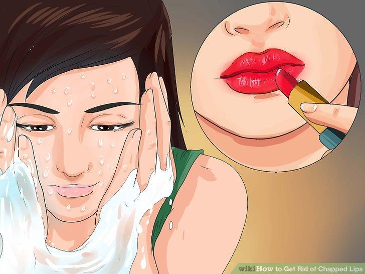 Verwenden Sie täglich Lippenbalsam.