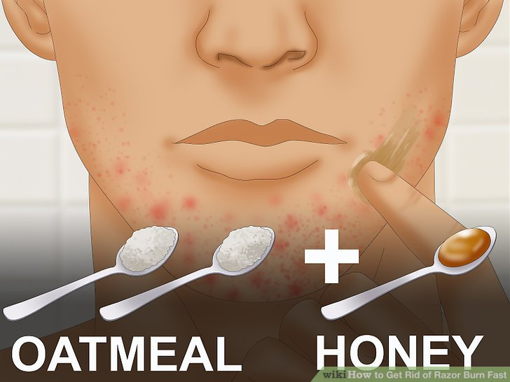 Apply an oatmeal mixture to your skin.
