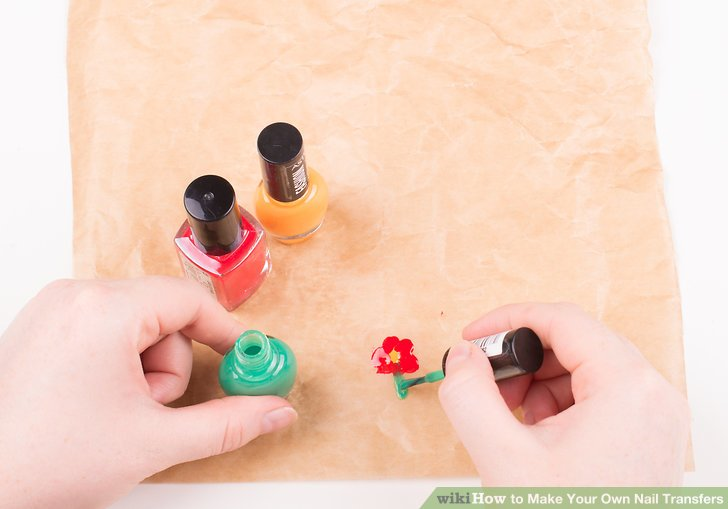 Image Led Make Your Own Nail Transfers Step 2