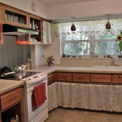Curtains For The Kitchen Round Drop Leaf Table How To Make And Install Cabinet 10 Steps Image Titled Photo Kcc Gainesville House Edit