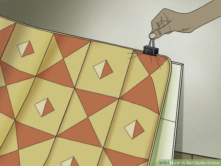 Yorganınızı asmak için cilt klipslerini veya maskeleme bandını kullanın, böylece yırtılmaz.