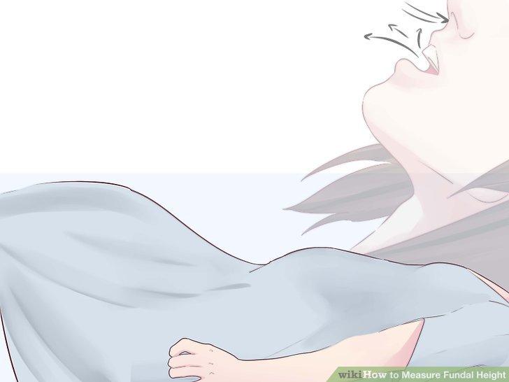 Doktor rahminizi palpe ettiğinde durun ve normal bir şekilde nefes alın.
