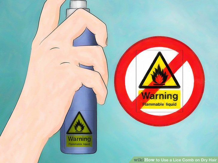 Stay away from flammable products.