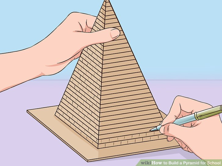 How To Make A Pyramid Out Of Wood Sticks
