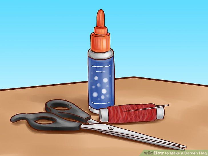 Sammeln Sie die notwendigen Materialien.