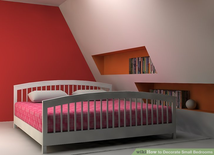 How to Decorate Small Bedrooms with Pictures  wikiHow
