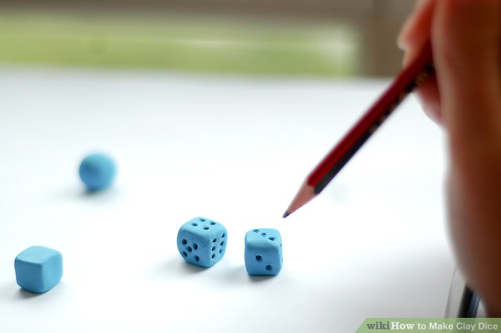 How To Make A 20 Sided Dice Out Of Clay