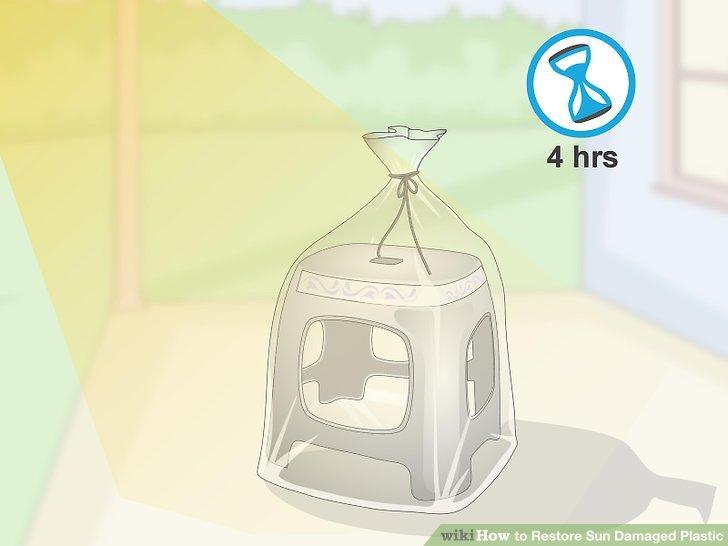 Setzen Sie die Tasche 4 Stunden lang direktem Sonnenlicht aus.