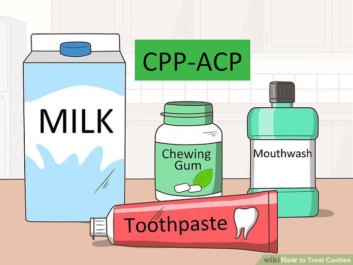 Verwenden Sie Produkte, die CPP-ACP enthalten.