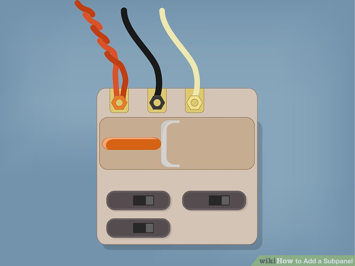 Verlegen und sichern Sie das Zuleitungskabel für die Nebenabdeckung in der Nebenabdeckung.