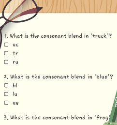 3 Ways to Teach Consonsant Blends - wikiHow [ 900 x 1200 Pixel ]