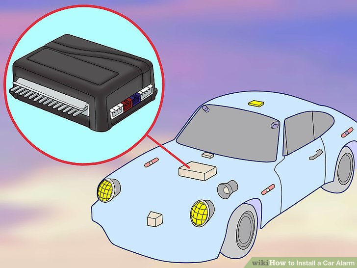 nexon car alarm system wiring diagram mtd lawn tractor how to install a 15 steps with pictures wikihow image titled step 5