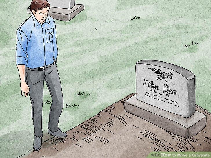 Bestätigen Sie, dass das Grab verschoben wurde.