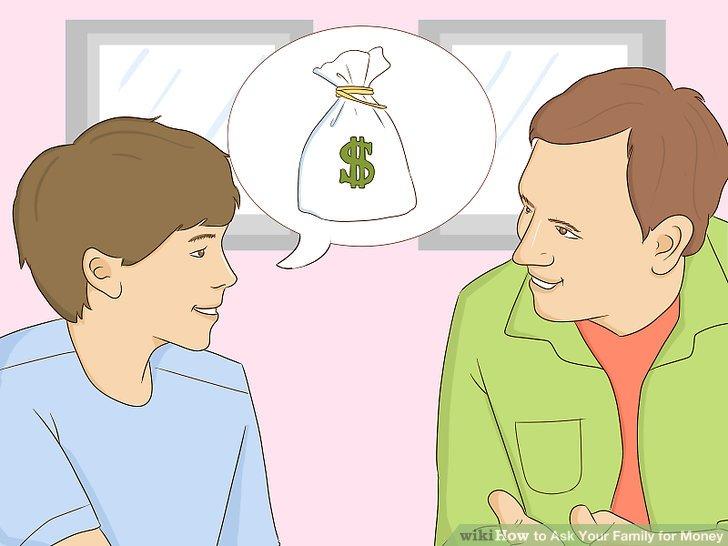 Fragen Sie Menschen, denen Sie vertrauen, um einen Kredit.