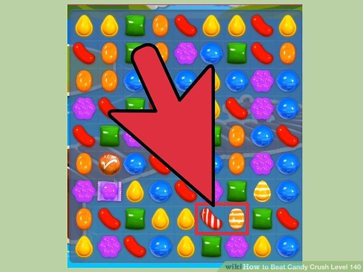 Holen Sie sich mindestens 7 Süßigkeiten pro Zug.