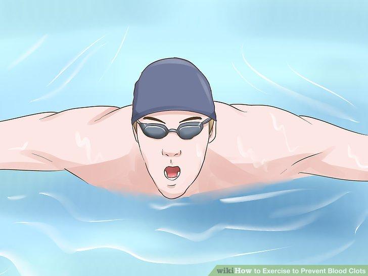 Versuchen Sie zu schwimmen.