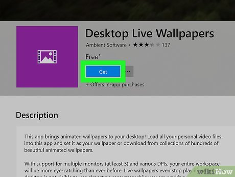 All you need to do is copy the files from your phone to the desktop. How to Get an Animated Desktop Background (with Pictures)