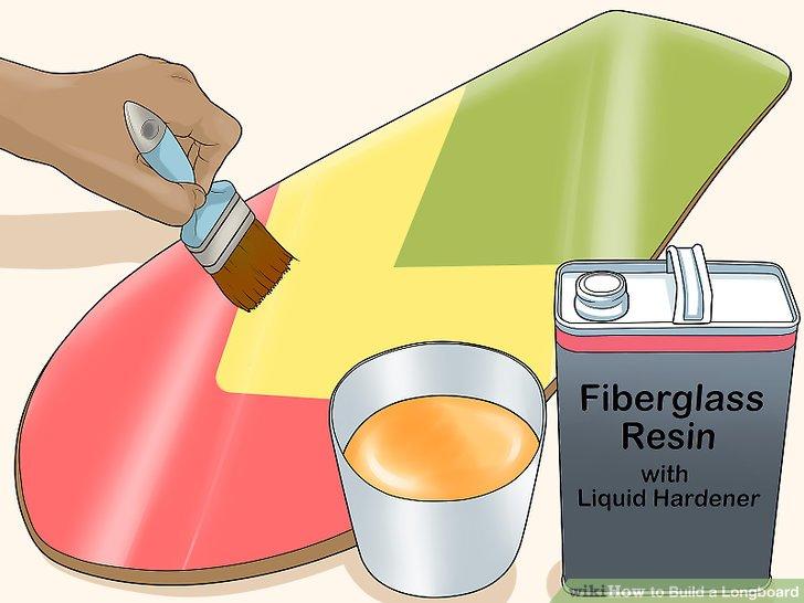 Fügen Sie eine letzte Schicht Polyurethanlack oder Fiberglasharz hinzu.
