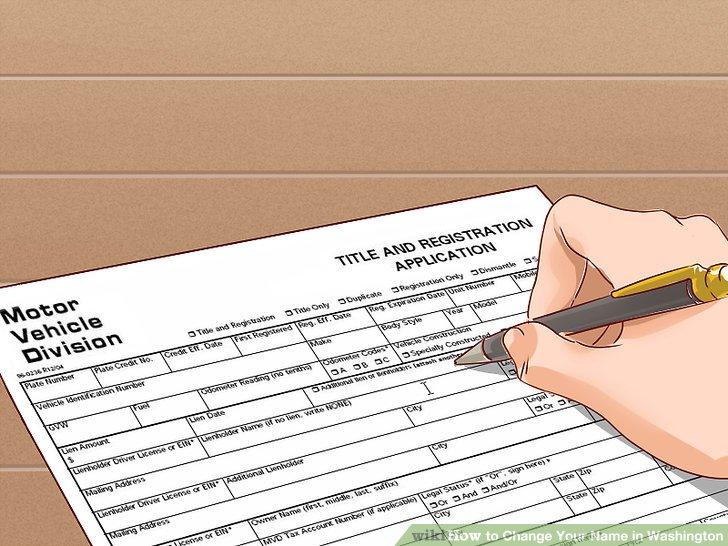 Change your vehicle registration.