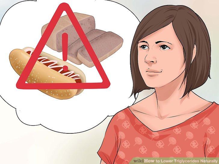 Vermeiden Sie Transfette und gesättigte Fette.