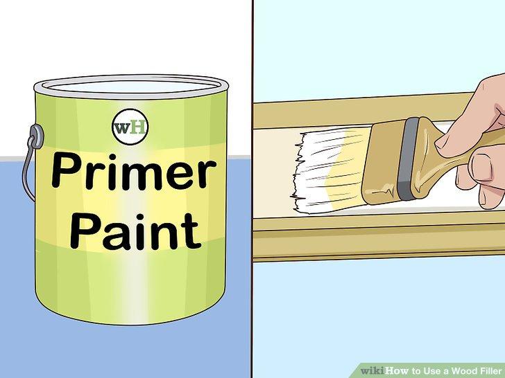 Verwenden Sie eine Grundierung, wenn Sie die Fläche streichen.