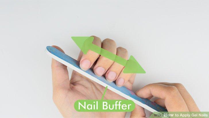Image Led Apply Gel Nails Step 1
