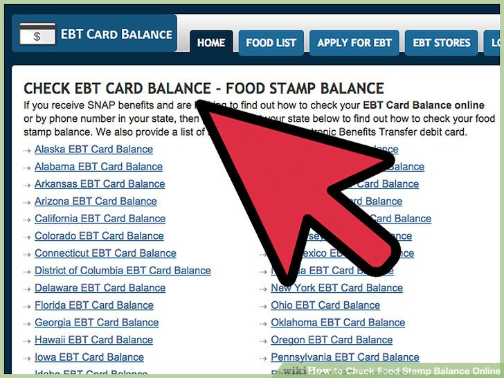 How Can I Check My Food Stamps Benefits Card