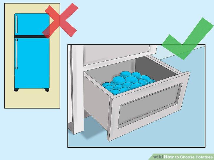 Wählen Sie einen etwas kühlen Ort für die Lagerung.