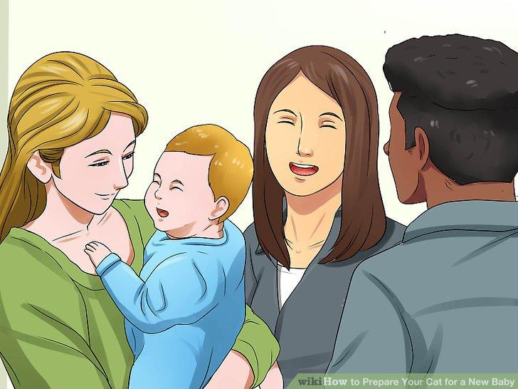 Laden Sie Freunde mit Babys ein, Sie zu besuchen.