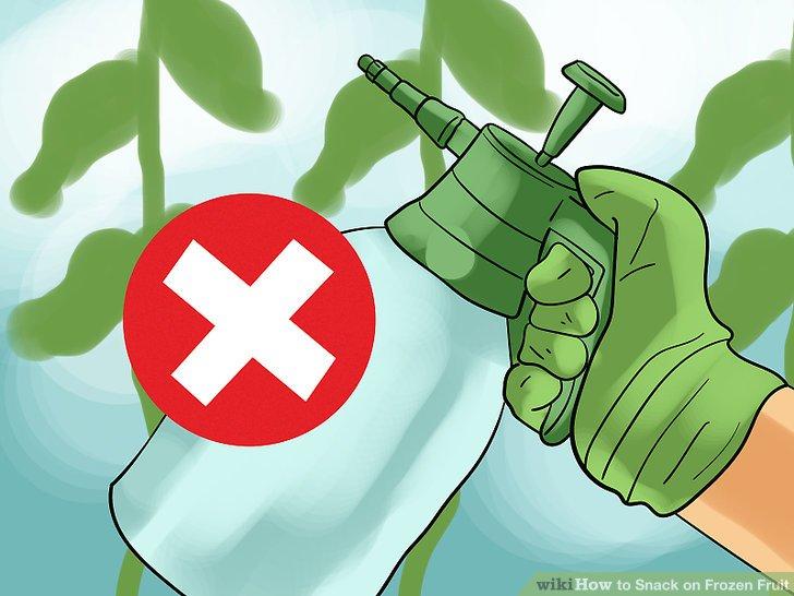 Seien Sie sich der Pestizide bewusst.