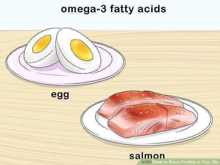 Nehmen Sie regelmäßig Lachs und Eier mit, um Ihre Omega-3-Fettsäuren zu erhöhen.