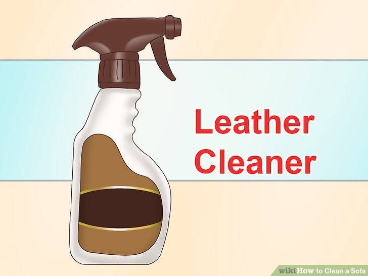 clean leather sofa with damp cloth ponk the best ways to a - wikihow