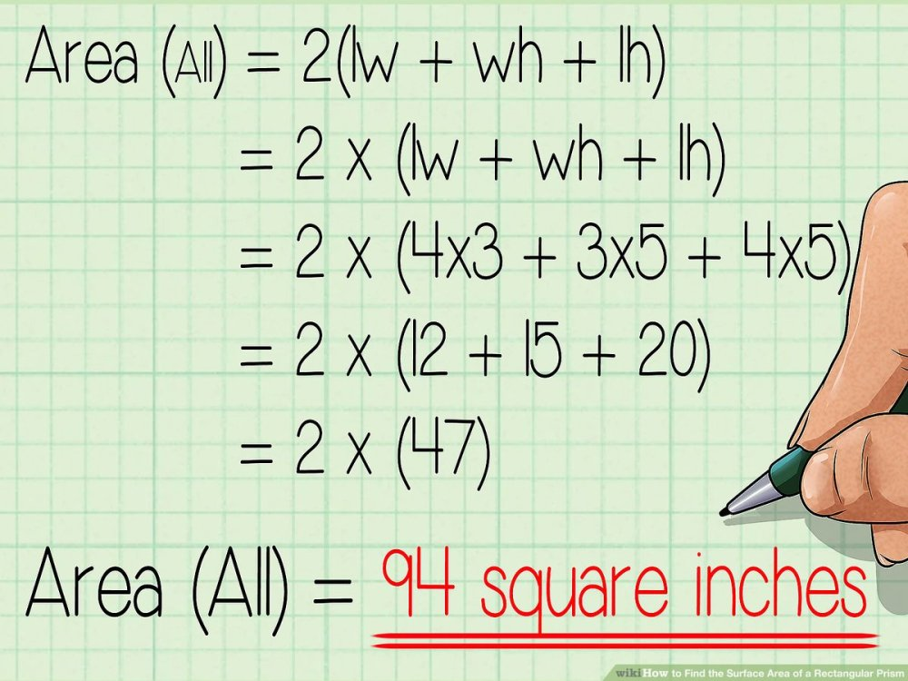 medium resolution of How to Find the Surface Area of a Rectangular Prism: 10 Steps