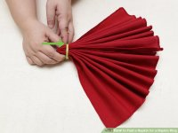 4 Ways to Fold a Napkin for a Napkin Ring - wikiHow