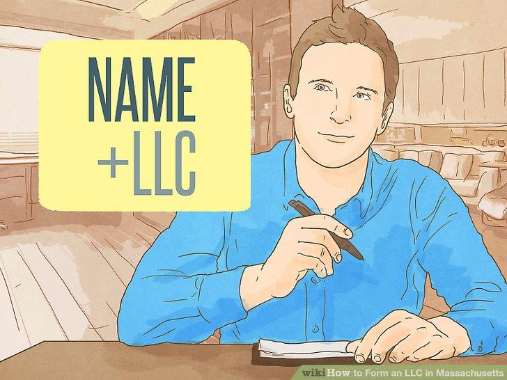 Wählen Sie einen Namen für Ihre LLC.