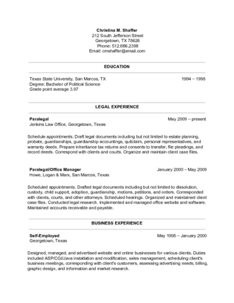 how to prepare a proper resume resume sample