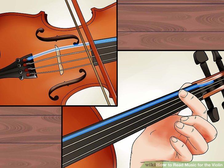 Lerne die Fingersätze für die Saiten.