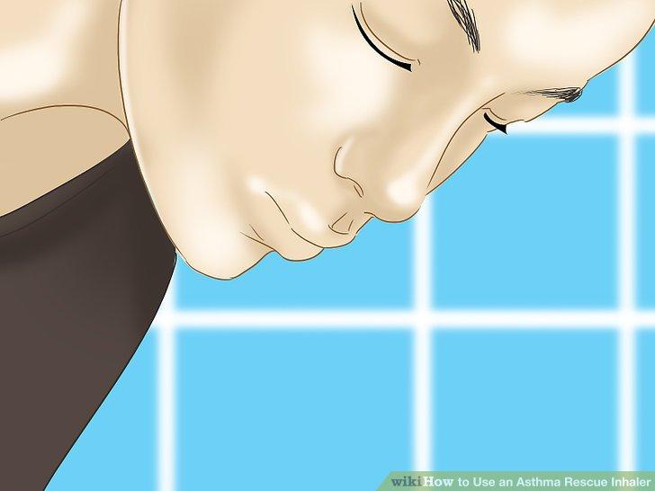 Es kann erforderlich sein, dass Sie Ihren Mund mit Wasser ausspülen, abhängig von Ihrem MDI-Typ, insbesondere wenn es sich um ein inhaliertes Steroid oder um bestimmte kombinierte inhalierte Medikamente handelt.