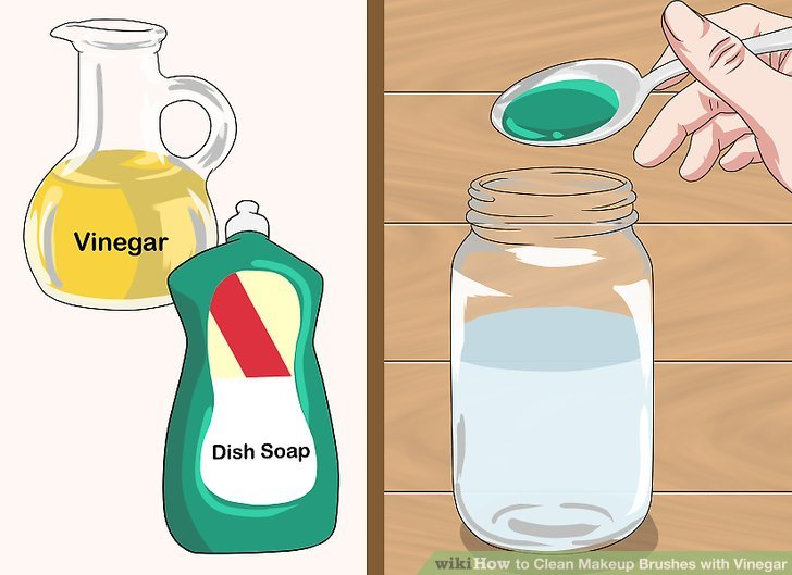 Clean Makeup Brushes with Vinegar Step 1.jpg
