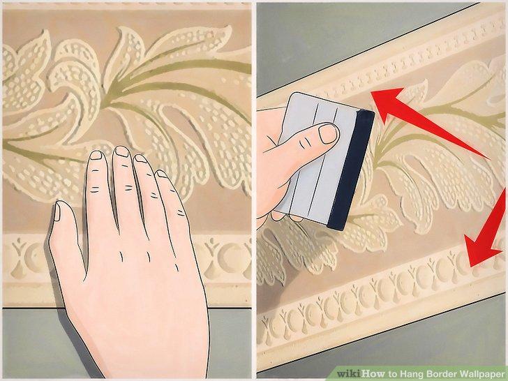 Setzen Sie diesen Vorgang fort, bis Sie den Raum tapeziert haben.